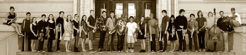 2014-15 BHS Jazz Lab I